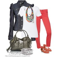 mixed style, created by stacy-gustin on Polyvore