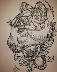 catlady done  #tattooart #tattoo #art #artwork #animaltattooart #animaltattoo #traditional #neotraditional #neotrad #newtrad #newtraditional #oldschool #drawing #drawn #tattooflash #tattoodesign #linework #selfmade #illustration #tattoodesign #dotwork #dotworktattoo #dotworktattooart #puma #mountainlion #cat #cattattoo by my_negation