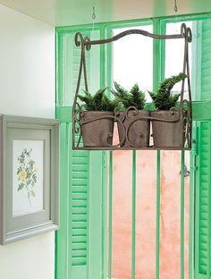decoraciones de stand vintage para plantas - Buscar con Google