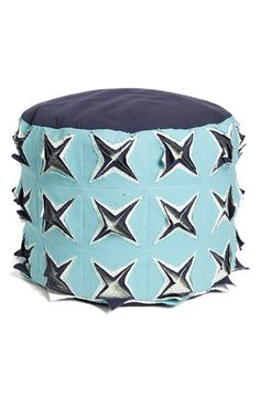 Nordstrom at Home 'Fortune Fray' Pouf available at #Nordstrom