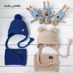 Мишуткины шапули Молочный комплект Продан (на головушку 46-48см), по вопросам жду в Директ  #lavka_petelka  #любовь_с_первой_петельки