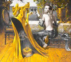 Михаил Хохлачев(Michael Cheval)...   Kai Fine Art
