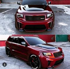 About broke my neck jerking it towards this monster rolling behind me. Jeep Srt8, Jeep Grand Cherokee Srt, Cool Trucks, Cool Cars, Badass Jeep, Vw Touareg, Lux Cars, Dodge Journey, Custom Jeep