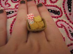 Kitty Bread Basket by MegEMays on Etsy, $6.00