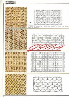 Szydełkomania: Wzory szydełkowe
