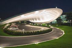 Концептуальный дизайн-проект выставочного павильона для Volkswagen