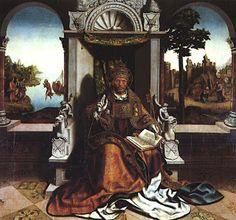 Pintura de Vasco Fernandes, S. Pedro  (c. 1530-1535, Museu de Grão Vasco, Viseu)