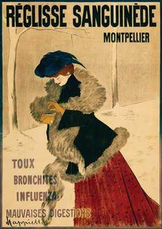 Yarn Embroidery Knitting Sew Borgosesia Cappiello Vintage Poster Repro FREE S//H