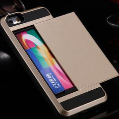 Credit Card Slide Case for iPhone