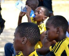 Flora Family - Soccer Day at Henna Sand Game, Game Reserve, Henna, Flora, Soccer, Community, Children, People, Life