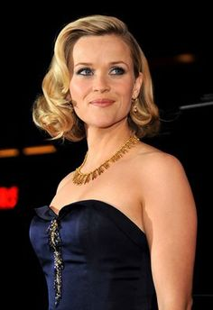 New Wedding Hairstyles Waves Hollywood Glamour Reese Witherspoon 59 Ideas 1950s Hairstyles, Celebrity Hairstyles, Vintage Hairstyles, Wedding Hairstyles, Cool Hairstyles, Hollywood Hairstyles, Bridesmaids Hairstyles, Hairdos, Bridesmaid Hair