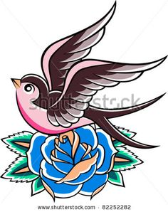 How with a mockingbird and a yellow rose and a little more vintage-rockabilly-flair? @Melissa Lancaster