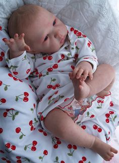 Bonnie Brown Dolls Ten Pink Toes Reborn Doll Nursery By Artist Julie Mitchell