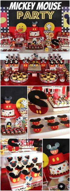 Mickey Mouse Party  Violeta Glace