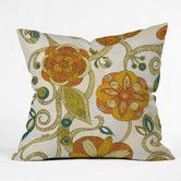 Found it at Wayfair - DENY Designs Valentina Ramos Flowers Indoor/Outdoor Polyester Throw Pillow