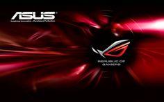 ASUS Wallpaper Red Logo