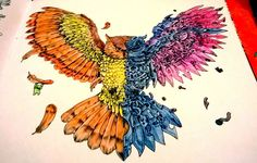 """#likeforlike #like4like #l4l #pencil #colors #explosionofcolors #owl #colours #colouringbook #imagimorphia #colorful @kerbyrosanes"""