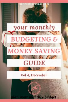 Things to budget for, buy & stock up on for big savings in December and months ahead. This is the most comprehensive monthly budget guide you've got to read. Best Budgeting Tools, Budgeting Money, Ways To Save Money, Money Saving Tips, Managing Money, Monthly Budget Planner, Household Budget, Christmas On A Budget, Create A Budget