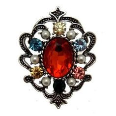 Wow! Vintage Inspired Costume Brooch
