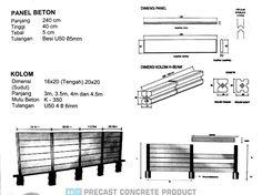 Pabrik Beton Precast: U-Ditch + Cover, Box Culvert, Pipa Beton, dlsb Floor Plans, Architecture, Kite, Arquitetura, Architecture Design, Floor Plan Drawing, House Floor Plans