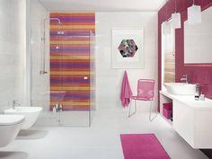 Kolekcja Briosa: styl Eklektyczny, w kategorii Łazienka zaprojektowany przez Ceramika Paradyż