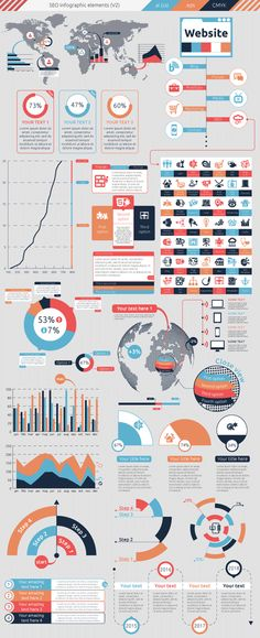 SEO Infographic on Behance