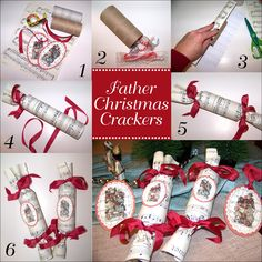 Traditional paper christmas cracker christmas pinterest diy crafts diy home crafts craft diy projects diy and crafts home crafts solutioingenieria Gallery