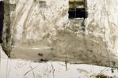 andrew wyeth | Andrew Wyeth - Benjamin's House, 1955