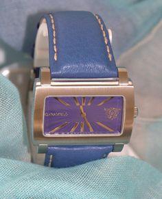 Reloj de diseño CARAMELO de acero inoxidable y correa por PetraCool