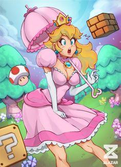 ArtStation - Go Peach ! Super Mario Bros, Super Mario Brothers, Princesa Peach, Super Princess Peach, Super Mario Princess, Game Character, Character Design, Mario Fan Art, Peach Mario