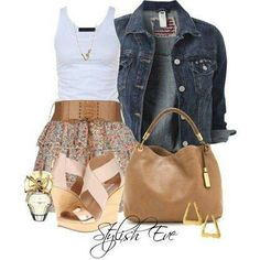 .Summer outfit
