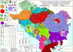 Nationality Map of the Balkans and southern Central Europe (Source: sebok1.adatbank.transindex.ro)
