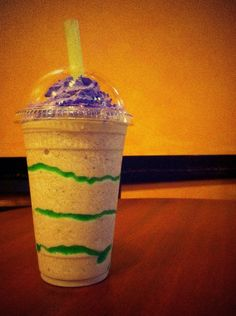 So we brought a little something back from #NoLa. THE KING CAKE FRAPPE IS BACK STARTING... NOW. #WishGranted