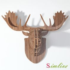 Cheap decor decoration, Buy Quality decorative door curtains home decor directly from China decorative heels Suppliers: DHL/Fedex/EMS shipping , Fast shipping ! Europe style DIY assembly carved wooden reindeer head hanging wall decor