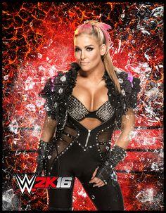WWE Diva Natalya Custom Render by cesaroswing on DeviantArt Best Wrestlers, Female Wrestlers, Wwe Nxt Divas, Wwe Game, Catch, Wwe Girls, Wwe Tna, Wwe Womens, Women's Wrestling