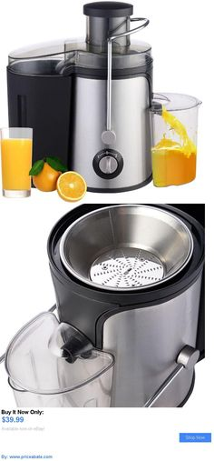 Small Kitchen Appliances: New Electric Fruit Juicer Machine Vegetable Juice Citrus Extractor Maker Blender BUY IT NOW ONLY: $39.99 #priceabateSmallKitchenAppliances OR #priceabate Dessert Makers, Pie Dessert, Small Juicer, Coffee And Tea Makers, Juicer Machine, Fruit Juicer, Chafing Dishes, Juicing Benefits, Small Kitchen Appliances