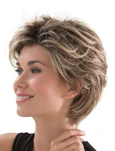 Most hair theme in consort with womens short hairstyles for fine hair. Plus size short hairstyles for women over 50 hair styles for best on brown hair concept. Pageant hair styles and also womens short hairstyles for fine hair. Short Hairstyles Fine, Haircuts For Fine Hair, Trendy Hairstyles, Pixie Haircuts, Haircut Short, Short Bangs, Haircut Style, Gorgeous Hairstyles, Hairstyles 2018