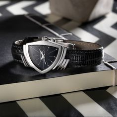 """The Ventura was the world's first electric watch and a favorite of Elvis Presley who wore the innovative timepiece in the 1961 movie """"Blue Hawaii."""""""