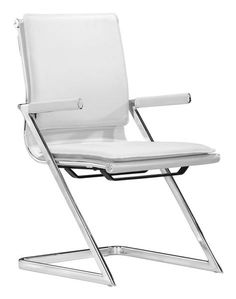 Lider Plus Conference Chair in White (Set of 2)