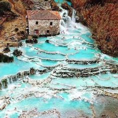 Natural Baths, Driving In Italy, Usa Places To Visit, Honeymoon Packages, Visit Italy, Travel Aesthetic, Week End, France, Hot Springs