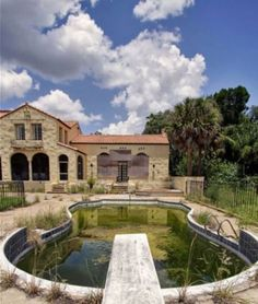 Khalil Bin Laden's Abandoned Mansion in Florida, near Disney World. In 2012, it was purchased by a man named John Lake who used it as a home & rented it out as a wedding venue. Unfortunately, the $8000 a month mortgage payment broke Mr. Lake & he disappeared with many of his clients' checks. Now the house is empty again.