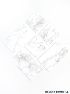 Marble Gift tags. Remember for later!
