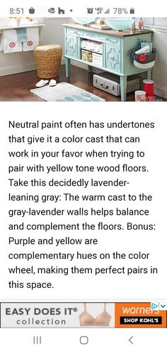 Wordly Gray, Lavender Walls, Neutral Paint, It Cast, Flooring, Grey, Wood, Ash, Madeira