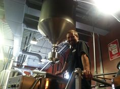 Brew Master Larry Parker at Northwoods Brew Pub - Eau Claire #Wisconsin