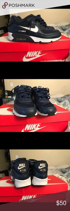 Blue Nike Air max 6.5 kids Blue Nike Air max 6.5 kids Nike Shoes Sneakers
