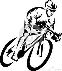 """Résultat de recherche d'images pour """"race cyclist black silhouette vector stylised"""""""