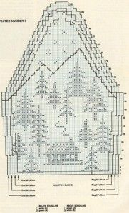 Snow and deer Christmas sweater pattern Fair Isle Knitting Patterns, Knitting Charts, Knitting Designs, Knitting Projects, Baby Knitting, Crochet Chart, Filet Crochet, Crochet Patterns, Cross Stitch Tree
