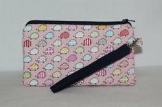 #Kawaii Hedgehog Wristlet Wallet Bag by RedShirtCreations on Etsy