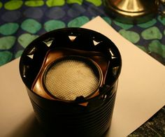The Nan Stove (made from a tea tin!)