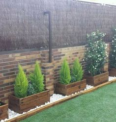 Great for the street side retaining wall